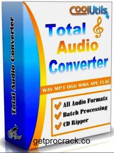 CoolUtils Total Audio Converter 6.1.0.253 Crack + Serial Keygen + License Code [Latest] Full