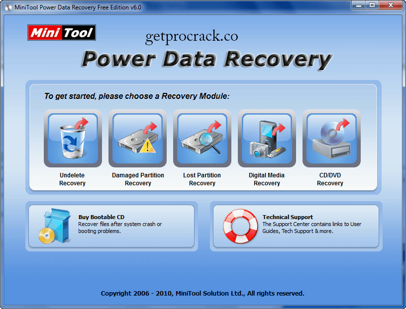 MiniTool Power Data Recovery 9.1 Crack With Full Download [Latest]