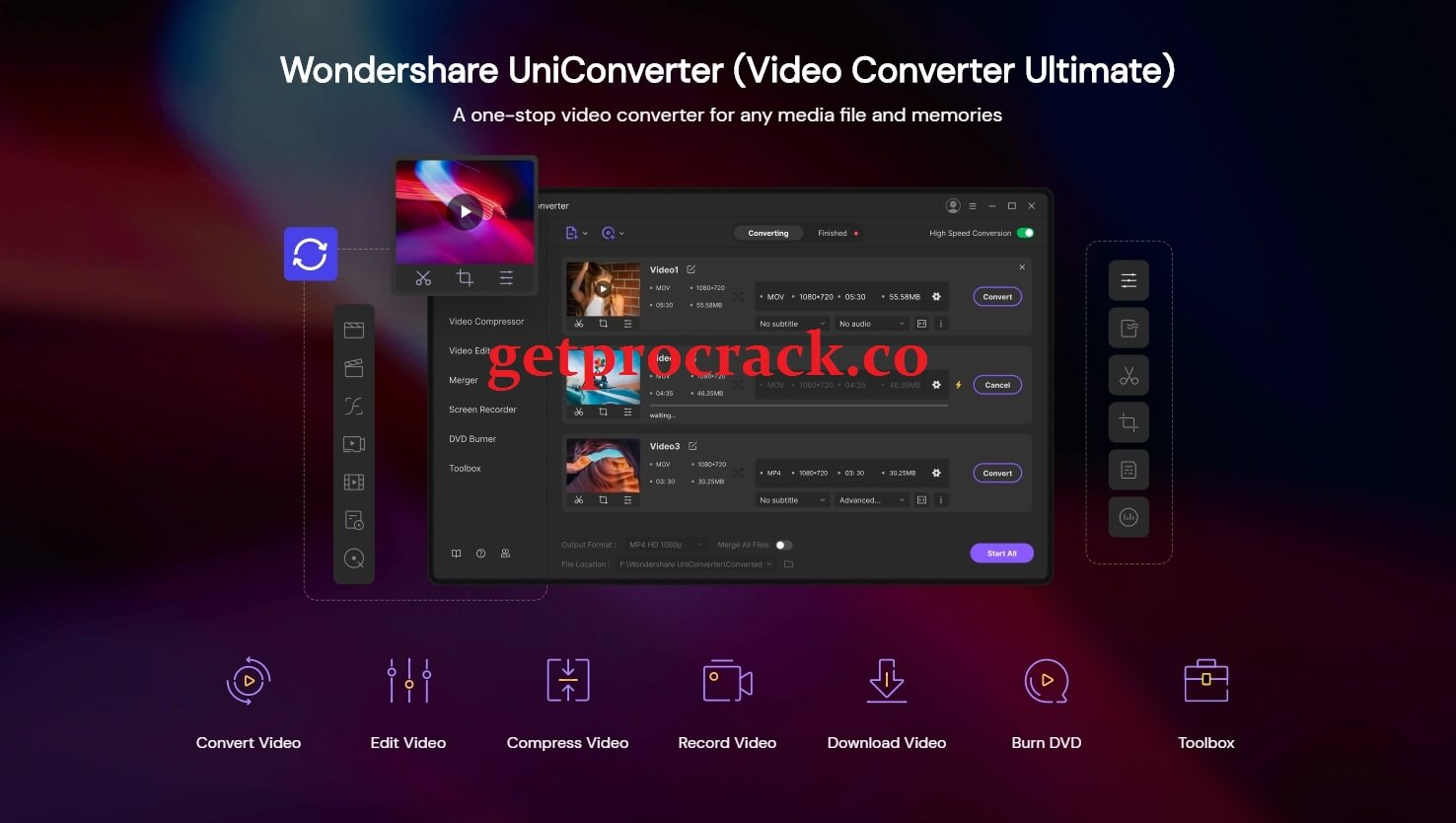 Wondershare UniConverter 12.5.1.8 Crack 2021 Full Registration Code [License Key]