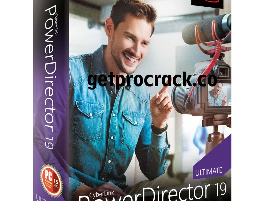 CyberLink PowerDirector Ultimate Crack 2021 19.1.2407.0 Download