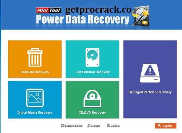 MiniTool Power Data Recovery Crack Strong Edition 9.2 2021 Download free