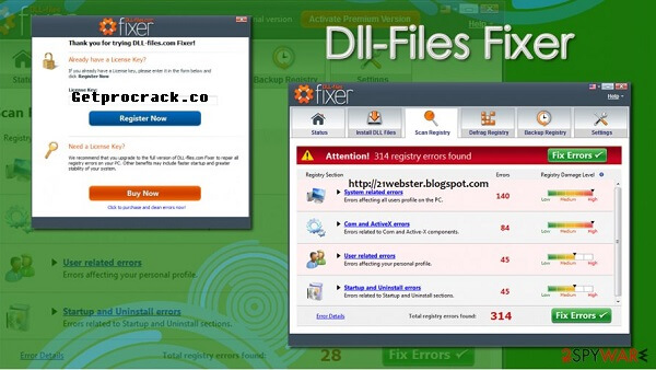 DLL Files Fixer Crack v3.3.92 + Keygen With Free License Key 2021