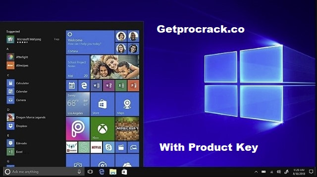 Windows 10 Pro x64bit Full Version With Product Key + Activated (2021)