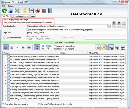 Bulk Image Downloader 5.91.0 Crack Free Download With Keys