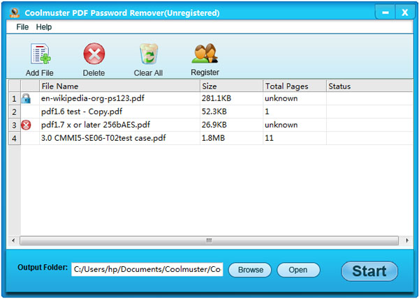 Coolmuster PDF Password Remover 2.1.10 With Crack Free Downloads