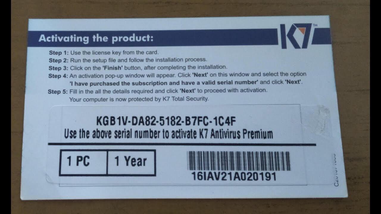 K7 Total Security Crack Serial Key Free Download [2020]